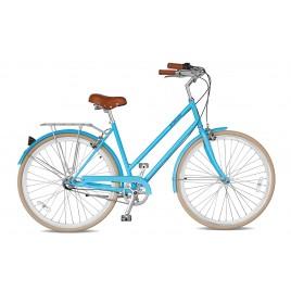 Велосипед жіночий міський Streetster ABBEYROAD 3 BLUE 26   2016