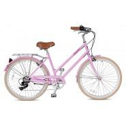 Велосипед жіночий міський Streetster ABBEYROAD 7 PINK 26 | 2016