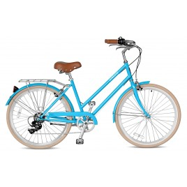 Велосипед жіночий міський Streetster ABBEYROAD 7 BLUE 26 | 2016