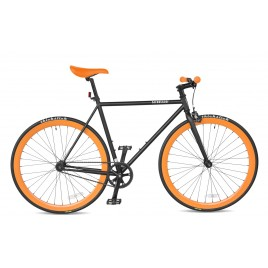 Велосипед чоловічий фікс Streetster BAKERSTREET BLACK 26 | 2016 (M)
