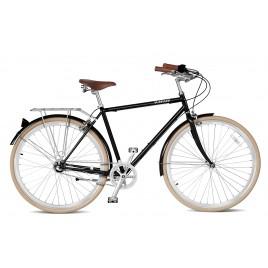 Велосипед чоловічий міський Streetster BROADWAY 3 BLACK 26 | 2016