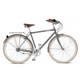 Велосипед чоловічий міський Streetster BROADWAY 3 GREY 26 | 2016