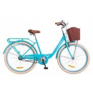 """Велосипед жіночий міськи Dorozhnik LUX  14G 26""""  BLUE"""