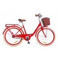 """Велосипед жіночий міськи Dorozhnik LUX  14G 26""""  RED"""