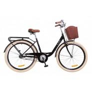 """Велосипед жіночий міськи Dorozhnik LUX  14G 26""""  BLACK"""