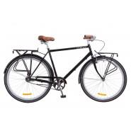"""Велосипед чоловічий міськи Dorozhnik COMFORT  MALE Black 28"""""""