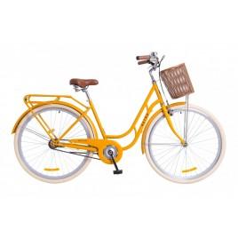 Велосипед жіночий міськи Dorozhnik RETRO Orange