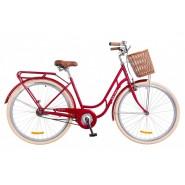 Велосипед жіночий міський Dorozhnik RETRO RED