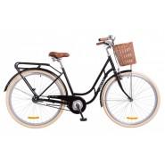 Велосипед жіночий міськи Dorozhnik RETRO Black
