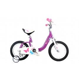 """Велосипед RoyalBaby BUTTERFLY 18"""", фиолетовый"""