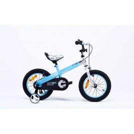 "Велосипед RoyalBaby BUTTONS 14"", синий"