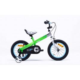"""Велосипед RoyalBaby BUTTONS Alu 12"""", зеленый"""