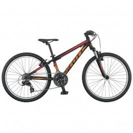 Дитячий велосипед SCOTT SCALE JR 24 чорно-помаранчевий (2015)