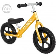 Біговий велосипед CRUZEE золотий