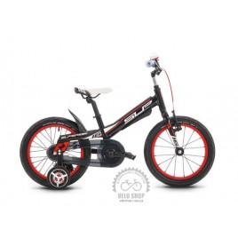 "Велосипед дитячий Superior Team 16"" чорний"