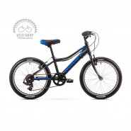 Велосипед дитячий Romet Rambler 20 (2019) Kid 1.0 Black