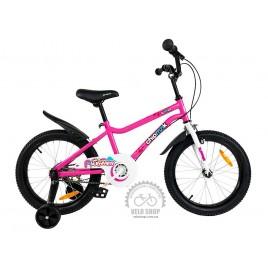 Велосипед дитячий RoyalBaby Chipmunk MK 18 Pink