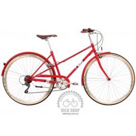 Велосипед жіночий міський Romet Mikste (2015) червоний