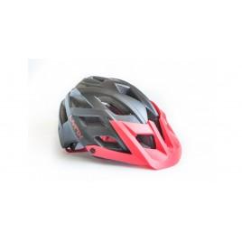 Велосипедний Шолом Lynx Chamonix black red