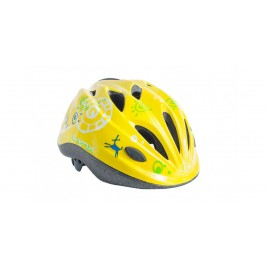 Велосипедний Шолом Lynx Kids Matt Yellow