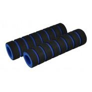 Гріпси на кермо Longus FOUMY black\blue