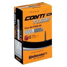 "Велосипедна камера Continental Tour 28"" All, 27x1 1/4 > 28x1.75 , Presta 60мм"