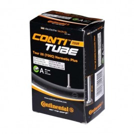 "Велосипедна камера Continental Tour 28"" Hermetic Plus, 700x28B > 700x342B, Schrader 40мм"