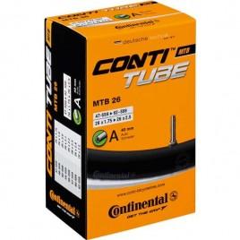 "Велосипедна камера Continental MTB 26"", 26x1.75 > 26x2.5 Dunlop"