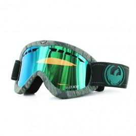 Маска Dragon DXS (Woodgrain/Green Ionized)