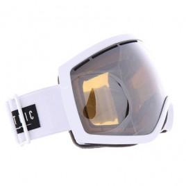 Маска Electric EG2.5 Gloss White Brose/Silver Chrome+light green