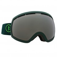 Маска Electric EG2 Hunter Green Brose/Silver Chrome+light green