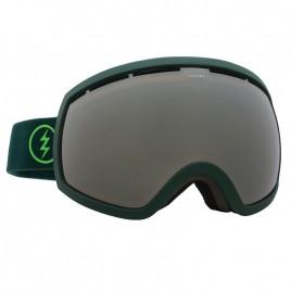 Маска Electric EG2 Hunter Green Brose/Silver Chrome+light green
