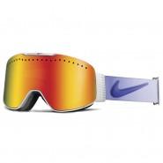 Маска Nike Fade White/PurpleHaze (red ion) + Yellow Red