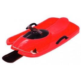 Санки Hamax Rocko Bob Speed Red-Black  з кермом