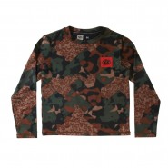 Термобілизна дитяча 686 Boys Thrill 1st Layer Shirt (hunter cubist camo)