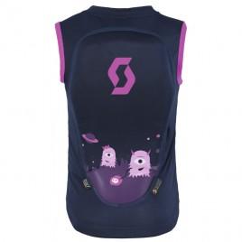Дитячий захист на спину SCOTT JR ACTIFIT чорний iris/рожевий