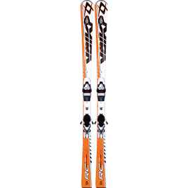 Комплект Лижі Volkl RACET RC UVO N-ORANGE 13/14+ кріплення XMOTION 12.0 T
