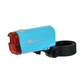 Задній Ліхтар для велосипеда Longus 1 SUPER LED blue