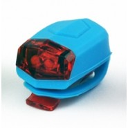 Комплект Ліхтарів для велосипеда Longus передній 2LED / 2ф-ції + задній 2LED / 2ф-ції, синій