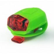 Комплект Ліхтарів для велосипеда Longus передній 2LED / 2ф-ції + задній 2LED / 2ф-ції, зелений