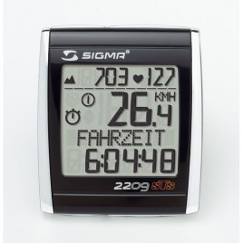 Велокомп'ютер SIGMA TOPLINE BC +2209 MHR