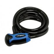 Велосипедний замок HQBC PEAR120 10x1200 black\blue
