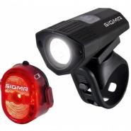 Комплект ліхтарів Sigma Buster 100 передній та Nugget II Flash K-Set задній  (USB)