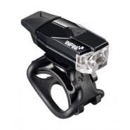 Світло переднє INFINI MINI LAVA USB 1LED 4 ф-ції чорний